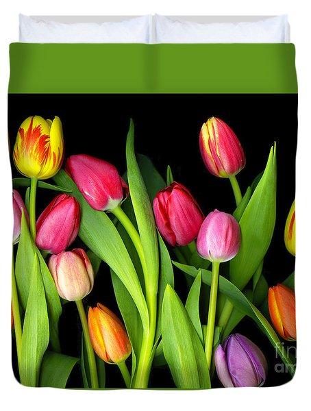 Tulips Duvet Cover