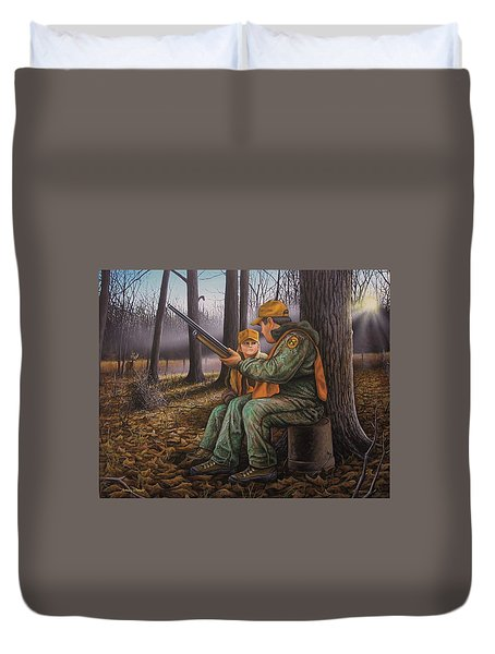 Pass It On - Hunting Duvet Cover