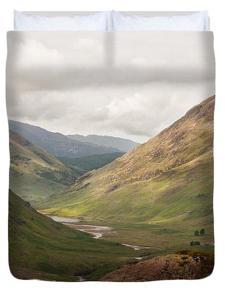 Pass Of Glencoe II Duvet Cover