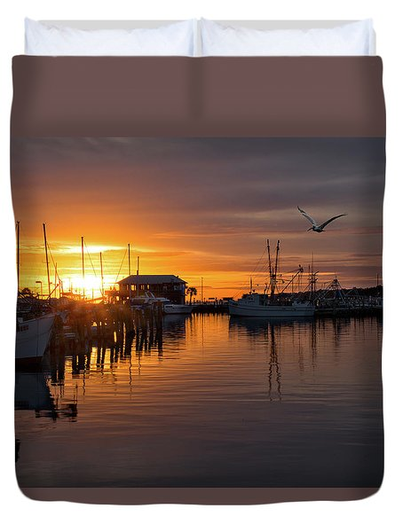 Pass Sunset Duvet Cover