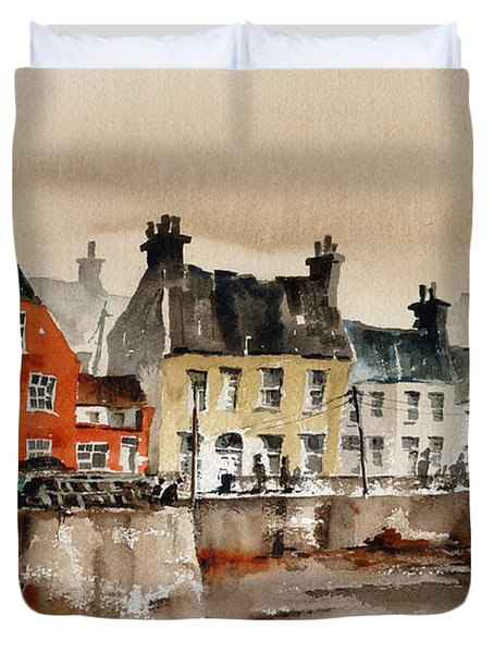 Passage East Harbour, Waterford Duvet Cover