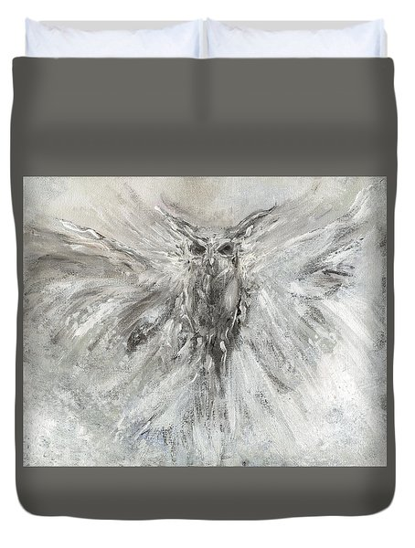 Passage Of Spirit -  The Guardian  Duvet Cover