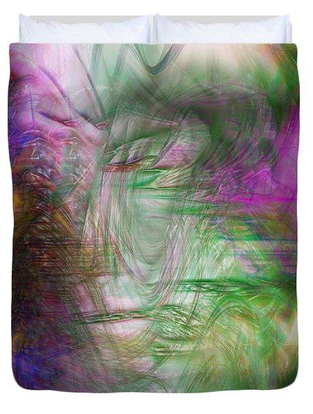 Passage Through Life Duvet Cover by Linda Sannuti