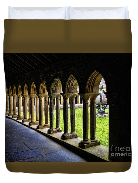 Duvet Cover featuring the photograph Passage To The Ancient by Roberta Byram
