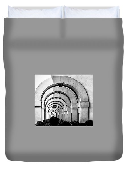 Passageway At The Arno Duvet Cover