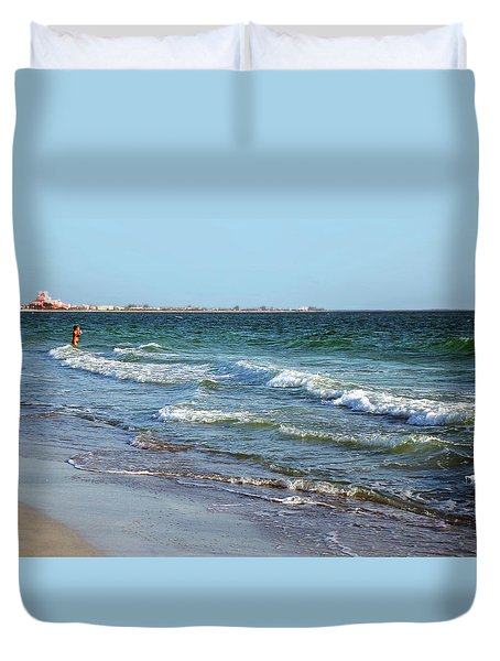 Passagrill Beach Duvet Cover