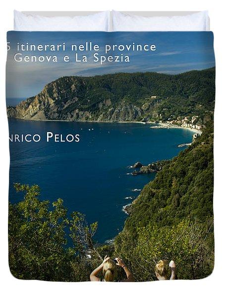 Passeggiate A Levante - The Book By Enrico Pelos Duvet Cover