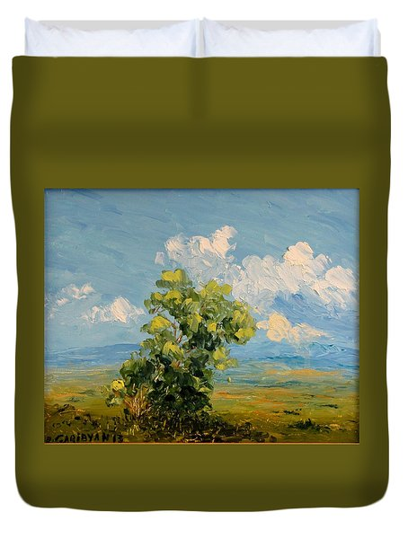 Passing Clouds Duvet Cover