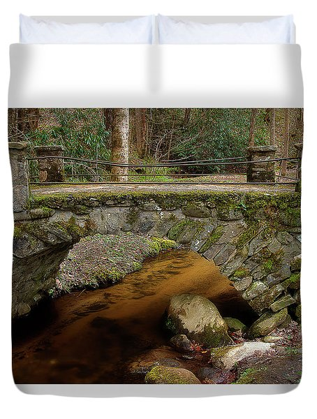 Duvet Cover featuring the photograph Passing Over Many Years by Mike Eingle