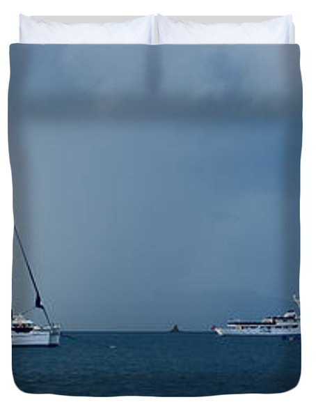 Passing Storm Duvet Cover by Adam Romanowicz