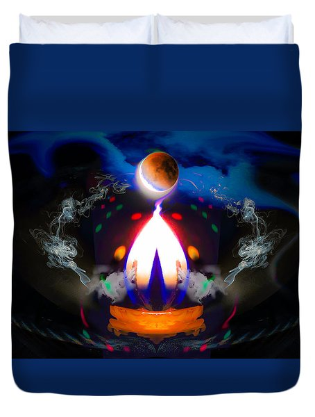 Passion Eclipsed Duvet Cover
