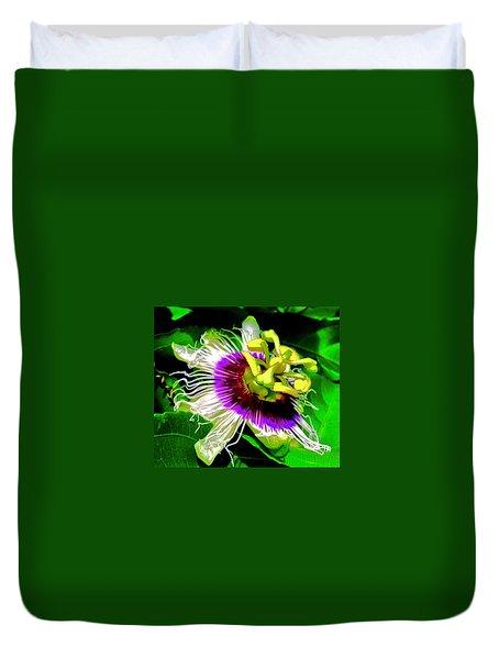 Passion Flower 3 Uplift Duvet Cover