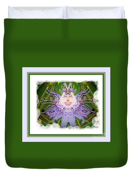 Passion Flower Fantasy 21 Duvet Cover
