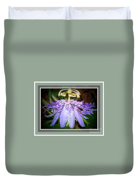 Passion Flower Lift Off Duvet Cover