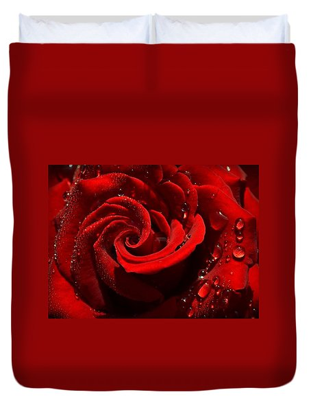 Passionate Red Duvet Cover