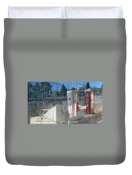 Past Gas Duvet Cover