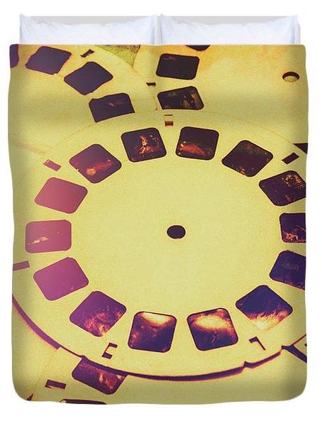 Past Projection Duvet Cover
