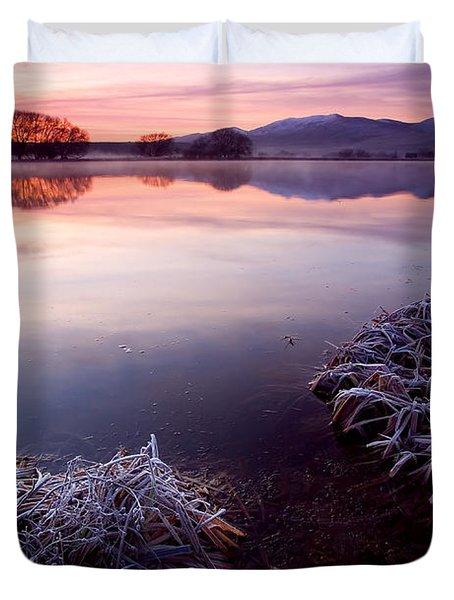 Pastel Dawn Duvet Cover by Mike  Dawson