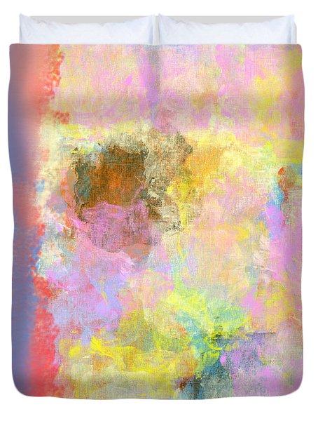 Pastel Flower Duvet Cover