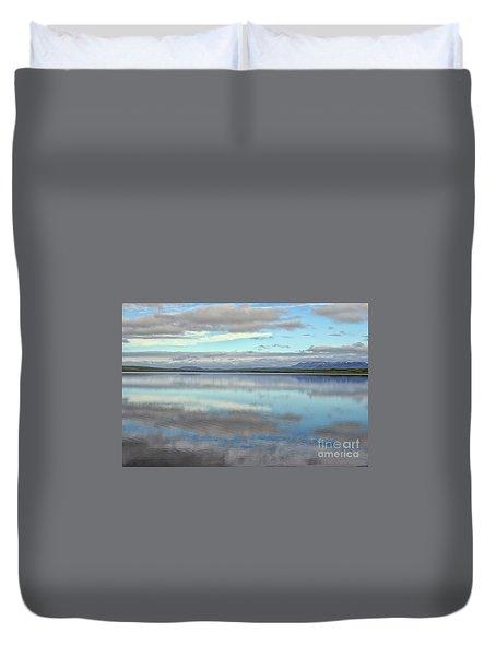 Pastel Landscape Duvet Cover