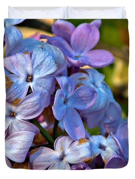 Pastel Lilacs Duvet Cover