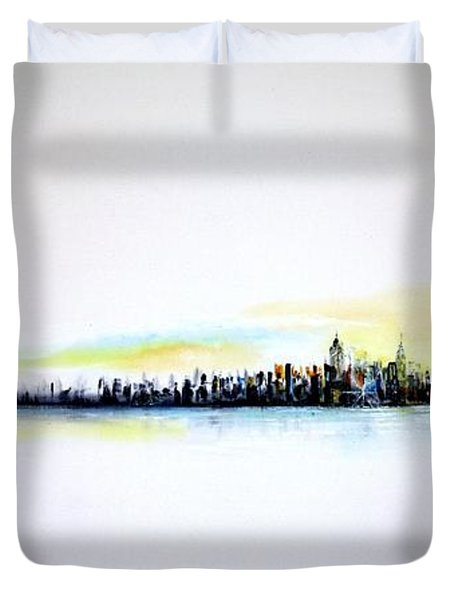 Pastel Morning Duvet Cover