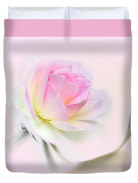 Pastel Passion Duvet Cover by Kaye Menner