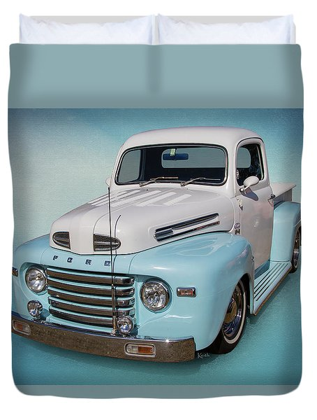 Pastel Pickup Duvet Cover