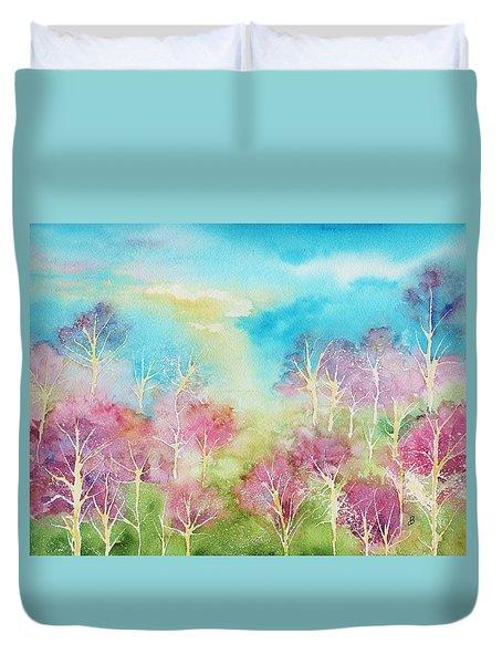 Pastel Spring Duvet Cover