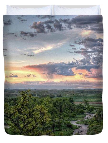 Pastel Spring Morning Duvet Cover