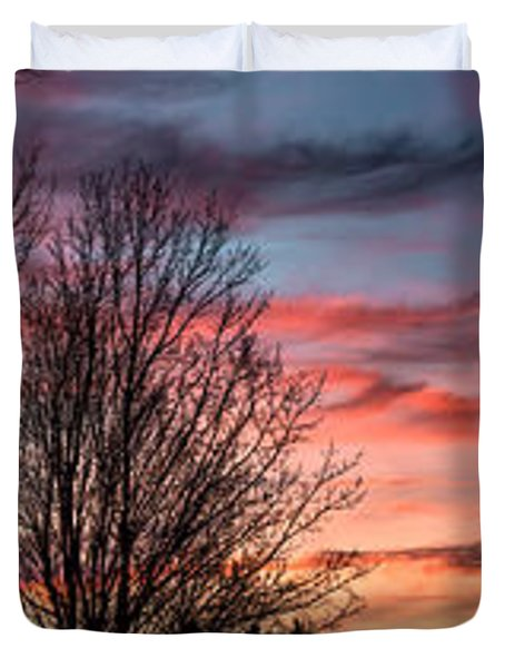 Pastel Sunrise Duvet Cover