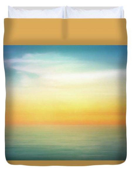 Pastel Sunrise Duvet Cover