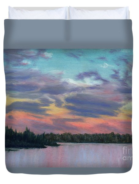 Pastel Sunset Duvet Cover