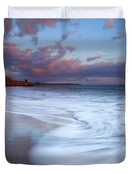 Pastel Sunset Tides Duvet Cover
