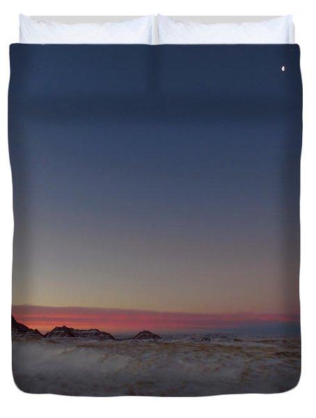 Pastel Winter Duvet Cover