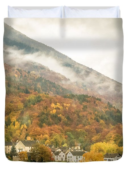 Pastoral Village Duvet Cover