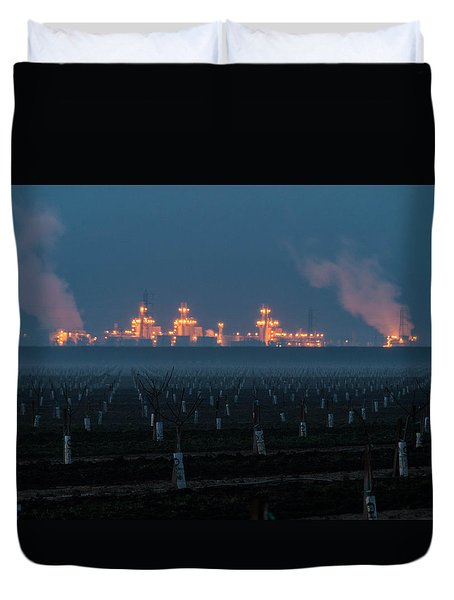 Pastoria Power Plant Duvet Cover