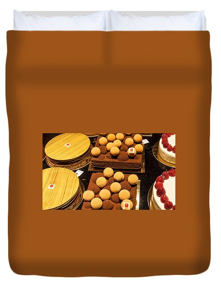 Pastry And Cakes In Lyon Duvet Cover