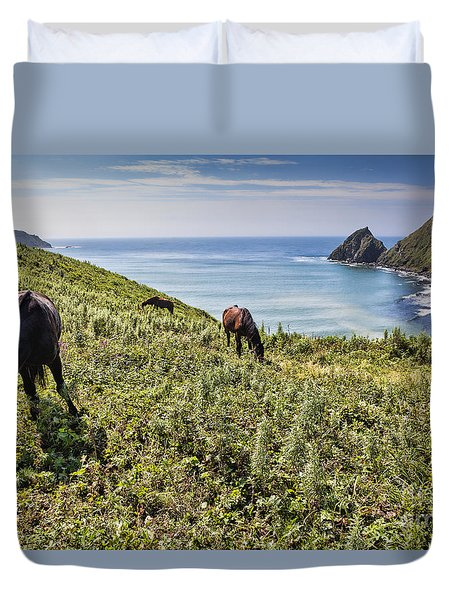 Pasture #2746 Duvet Cover