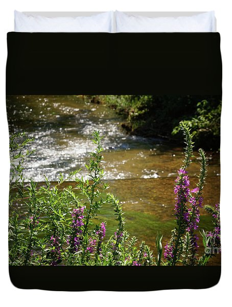 Pasture Upstream Duvet Cover