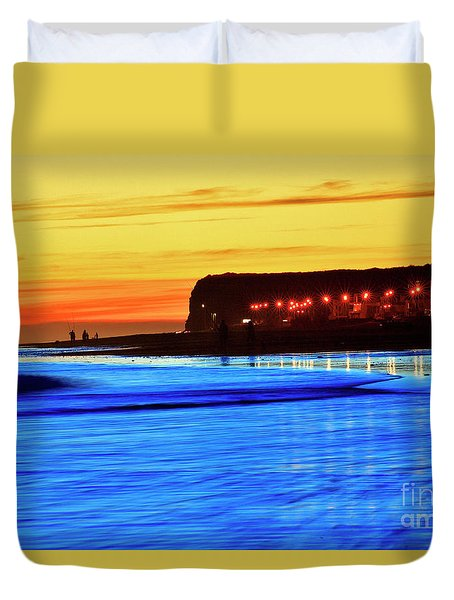 Patagonia Beach. Duvet Cover