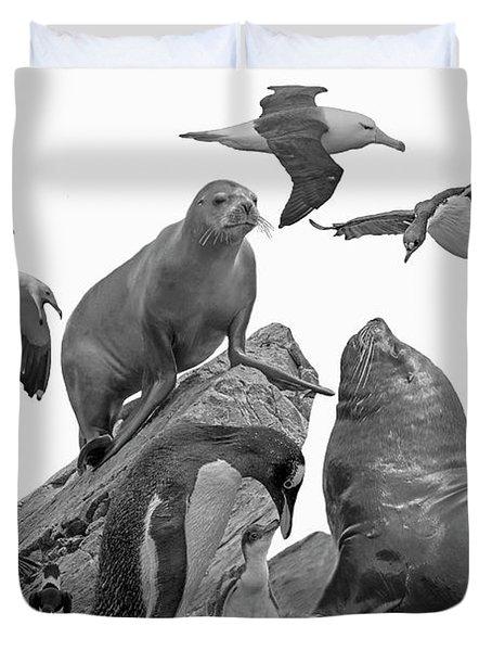 Patagonian Wildlife Duvet Cover