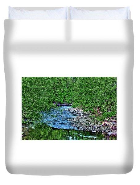 Patapsco River Duvet Cover