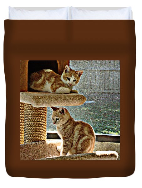 Patch And Dom Duvet Cover