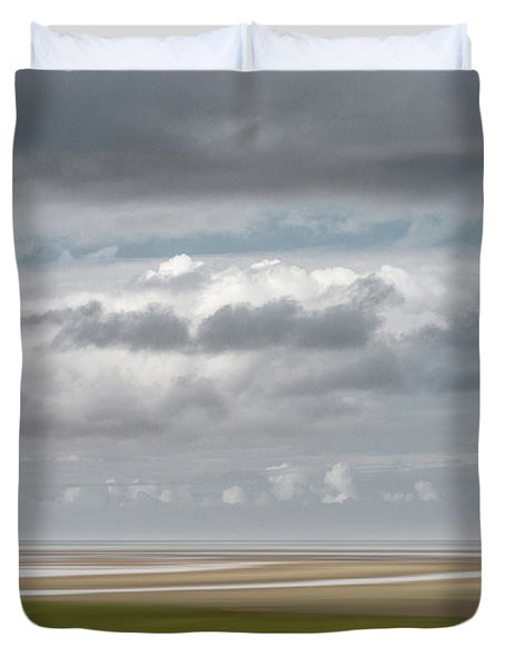 Patch Of Blue Duvet Cover