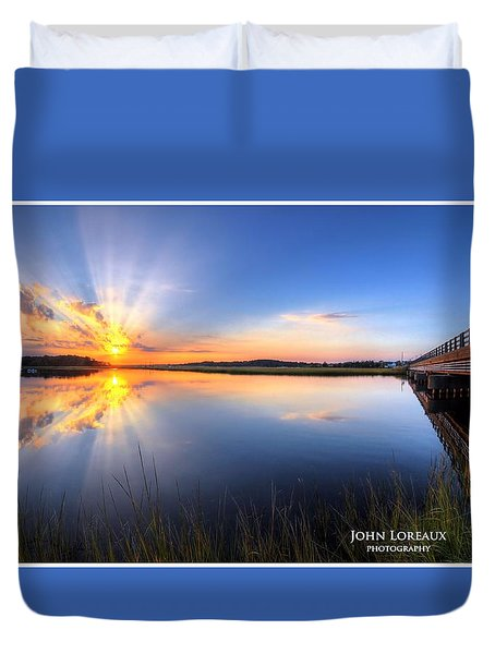 Patcong Rays Duvet Cover