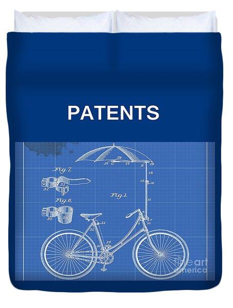 Patents Duvet Cover