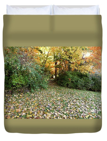 Path Entry Ahead Duvet Cover