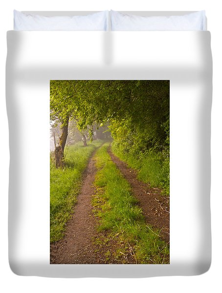 Path From Bullock Lake Duvet Cover