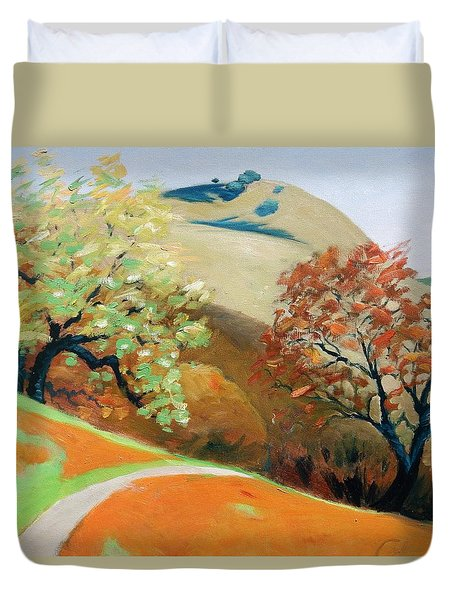 Path Duvet Cover by Gary Coleman